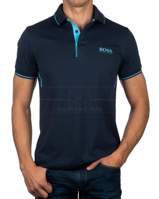 Polos Hugo Boss - Paule MK Azul Marino. Polos Hugo Boss - Paule MK Azul  Marino Marca De Ropa ... ee790619181