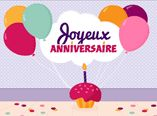 Cartes virtuelles d'anniversaire à personnaliser (Dromadaire)