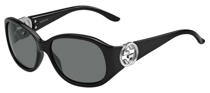 Lunettes de soleil - pas cher - Gucci GG-3140-S Noir D28 1
