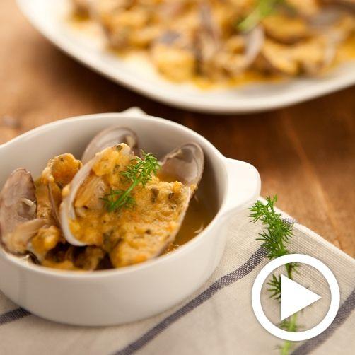 Una deliciosa receta de Almejas a la marinera para #Mycook http://www.mycook.es/receta/almejas-la-marinera/
