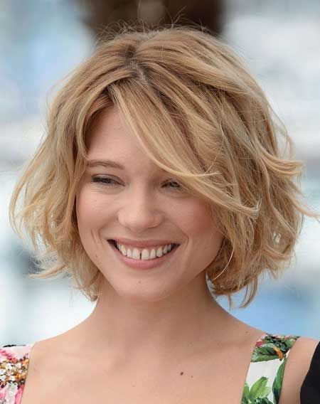 Peachy 1000 Ideas About Wavy Bob Hairstyles On Pinterest Wavy Bobs Hairstyles For Women Draintrainus
