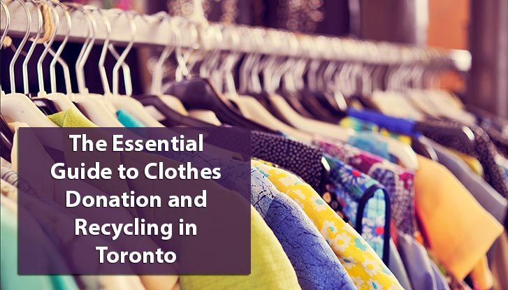 Stop throwing your old clothing in the garbage! We've compiled a list of places for clothing donation and recycling so you no longer have to throw them out.