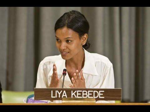 Ethiopian model Liya Kebede Inspiring moments