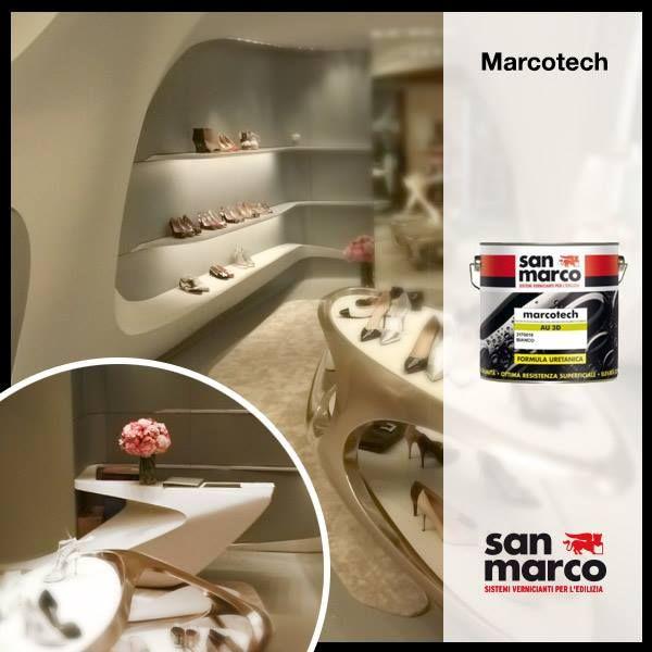 MARCOTECH AU 3D Il progetto di #decorazione a pavimento per la boutique ad Hong Kong di Stuart #Weizman è stato realizzato da San Marco Paints - Asia Pte Ltd, con l'utilizzo di #MARCOTECH AU 3D, una #finitura monocomponente a basso spessore per pavimentazioni in cemento per interno/esterno, dotata di ottima resistenza, buone prestazioni meccaniche e facilmente pulibile. Link >> www.san-marco.com/ita/referenze/showroom-stuart-weitzman.php