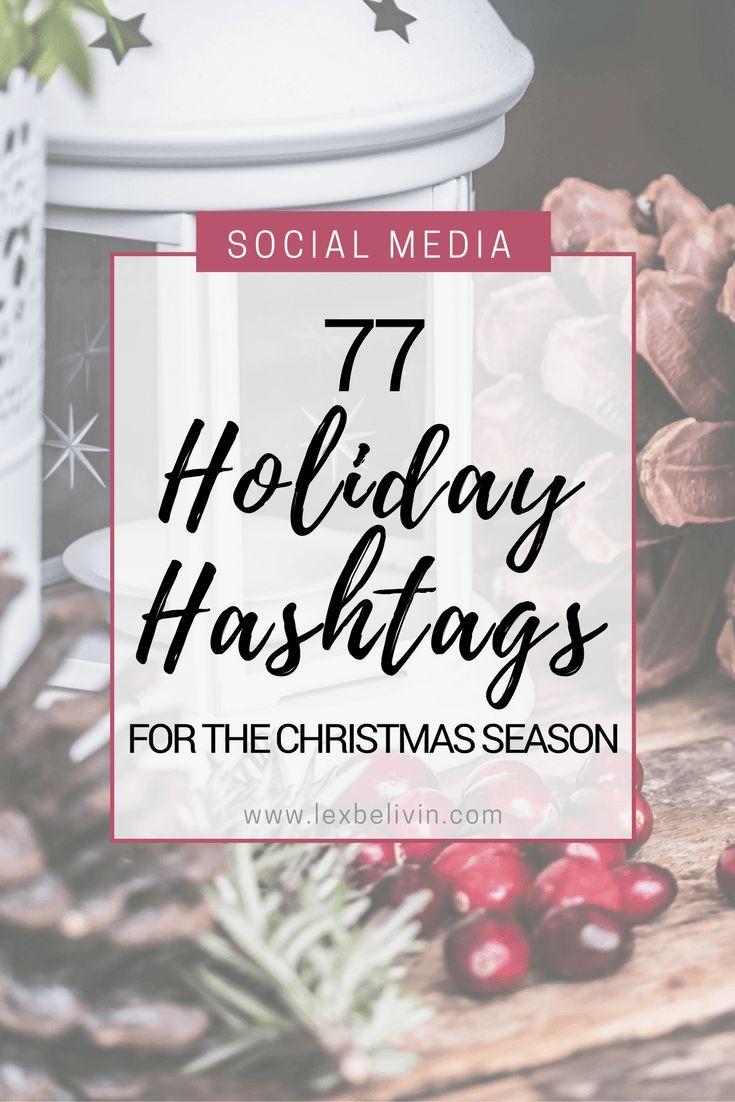 Bluehost Com Holiday Hashtags Instagram Christmas Hashtag Ideas