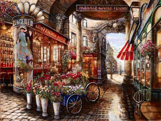 Original Art Paintings by Artist Vadik Suljakov 800-959-7979