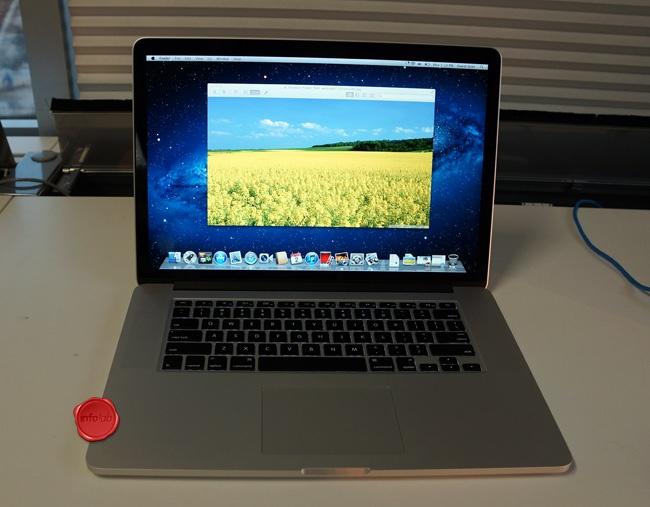 MacBook Pro com tela Retina tem pixels de sobra