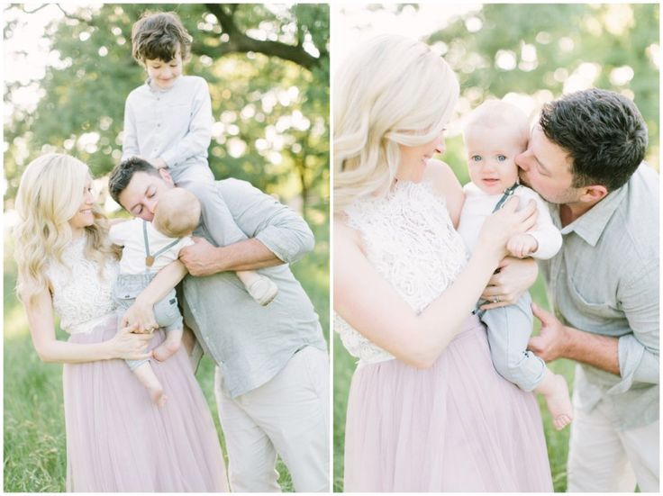 What to Wear | Family Session - Neutrals and Soft Pastels (Image by Katie Lamb Photography)