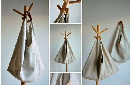 5 formas fáciles de hacer bolsos de tela