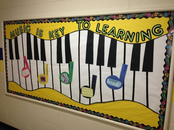 Music Classroom Decor Ideas ~ Best images about music bulletin boards on pinterest