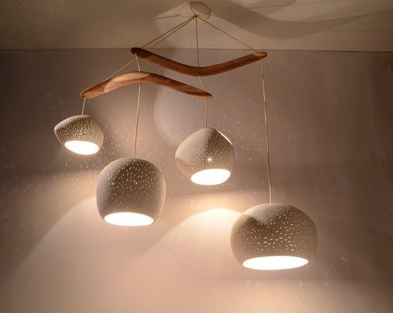 Claylight Boomerang Xl Dining Room Lighting Modern Light Etsy Ceramic Light Modern Light Fixtures Modern Dining Room Lighting