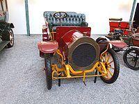 Gladiator Double Phaeton von 1907, 2 Zylinder, 2423 Kubikzentimeter, 12 PS, 45 km/h, Cité de l'Automobile – Musée National – Collection Schlumpf, Mulhouse, France