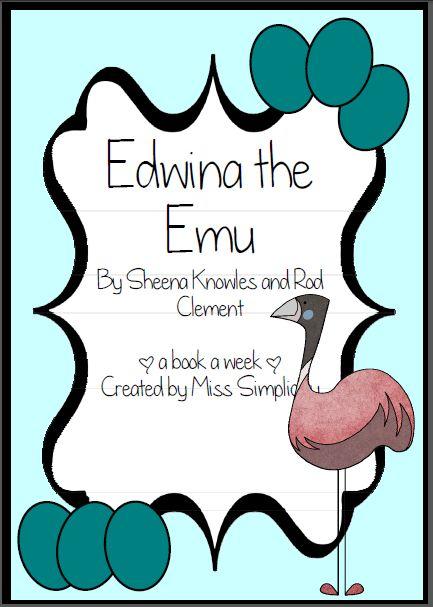 Edwina the Emu  literacy activities