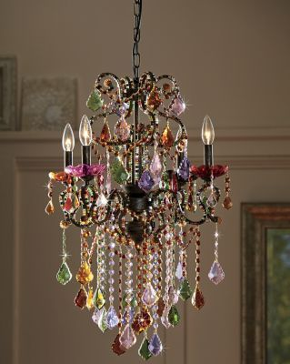 Highlight The Room With Stunning Color And Sparkle Exquisite In Every Detail This Chandelier