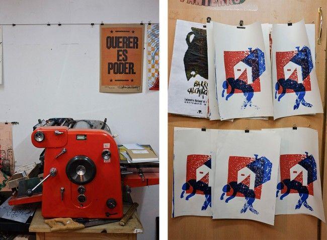 NUEVO POST // Visitamos Prensa La Libertad, una de las pocas imprentas de tipos móviles que todavía existe en la Ciudad de Buenos Aires.