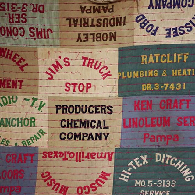 This is probably the best quilt ever. #vintage #visvim #tokyo #japan #vm #patchwork #typography #americana #wallporn