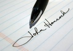 How to Sign a Cool Signature -- fun stuff! i have a couple different signatures…