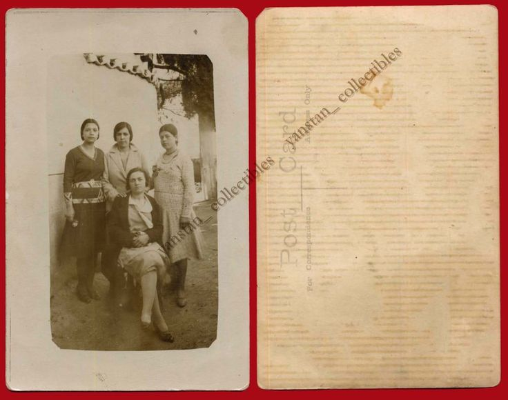 #23123 Greece 1930s. Women. Photo PC size.