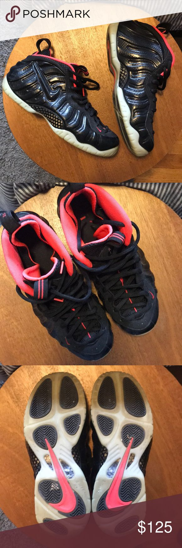 NIKE Air Yeezy Foamposite Used condition. No flaws. Probably worn a handful of times if that. Size 10. Nike Shoes Sneakers
