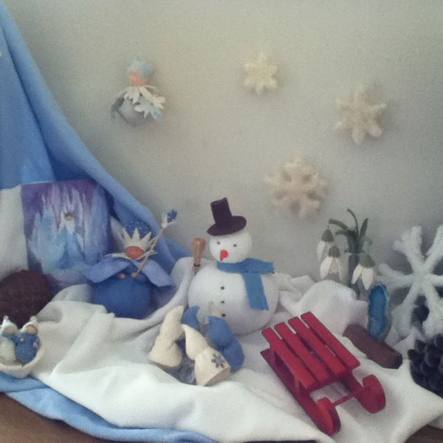 Seizoenstafel winter