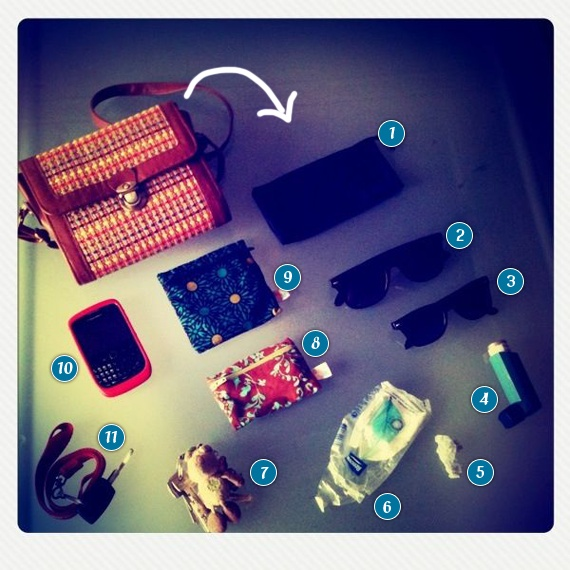 by Lipa... What's in my bag #1