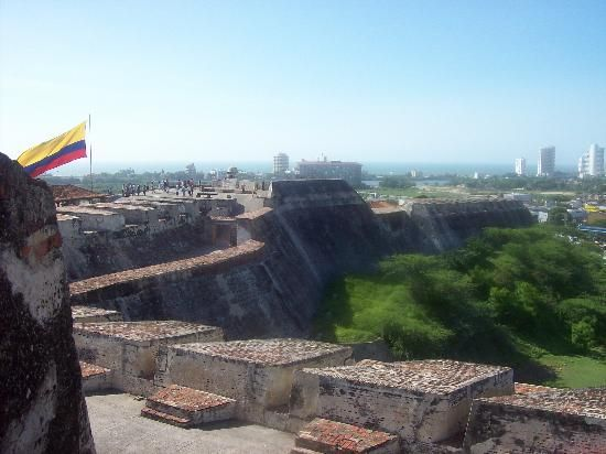 Side View of Castillo de San Felipe