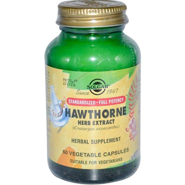 Buy Solgar,Hawthorn Herb Extract,60 Veggie Capsules Herbal Supplement for sale in Cheapest Online supplements shop megavitamins in Gold Coast,Brisbane & across Australia.