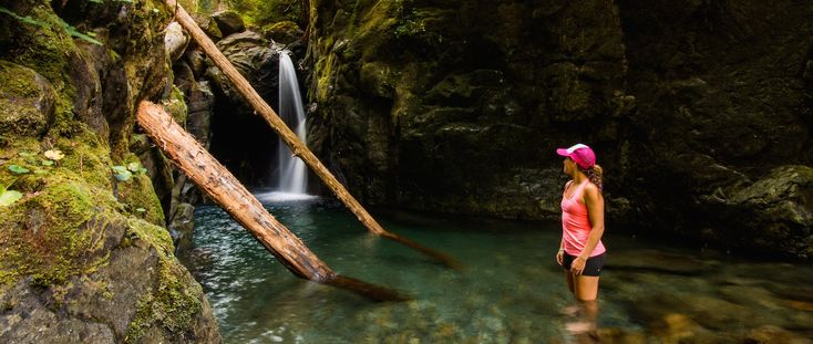8 Waterfalls of Vancouver Island