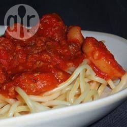 Photo recette : Sauce tomate toute simple au basilic