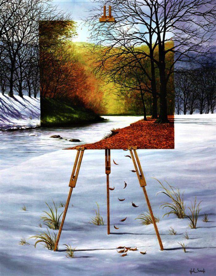 Сюрреалистические картины без границ фантазии и реальности