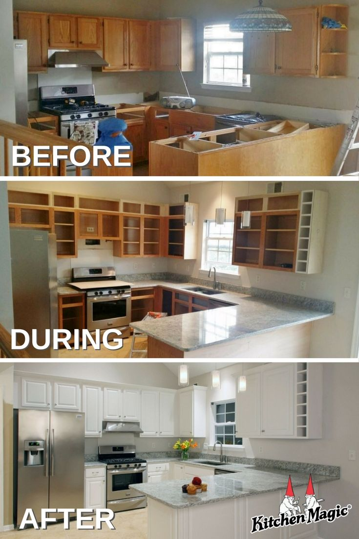 Yes You Can Reface And Increase Cabinet Size Refacing Kitchen