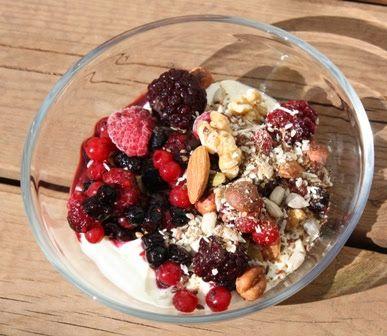 Kjernesunn Nordkvinne: Kostdoktorns frokostmüsli