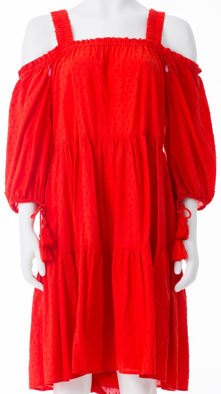 Robe orange style boho, H&M, 19,99$ * orange boho dress, H&M, $19.99