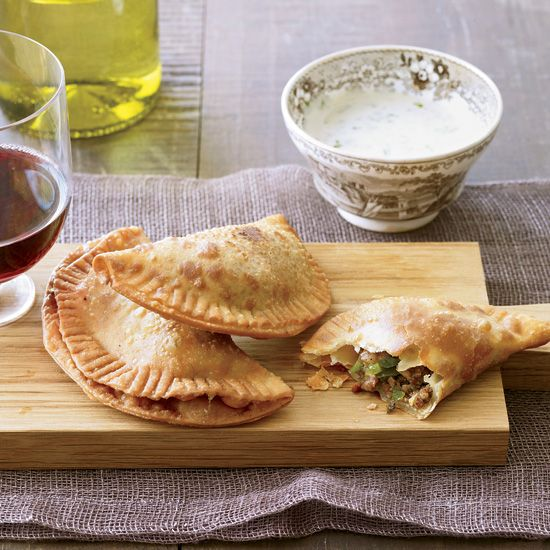 Natchitoches Meat Pies with Spicy Buttermilk Dip // More Southern Comfort Foods: http://www.foodandwine.com/slideshows/southern-recipes #foodandwine