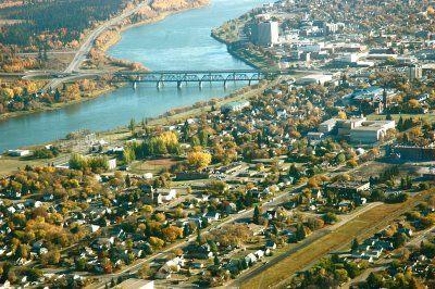 Prince Albert, Saskatchewan, Canada Saskatchewan River