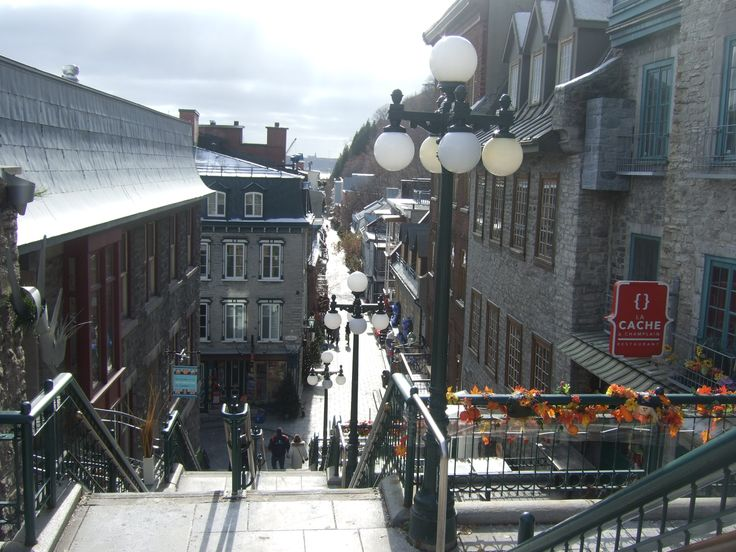 Old Quebec City is so charming