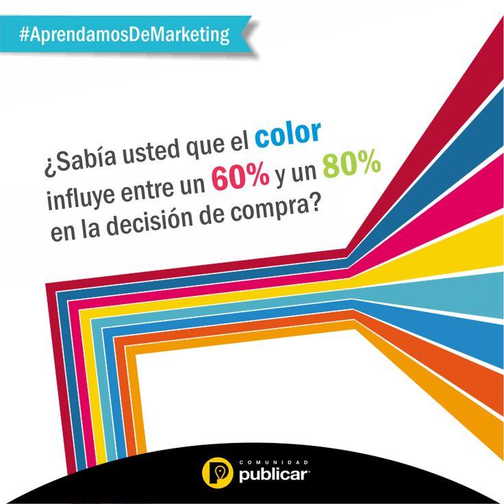 #AprendamosDeMarketing ¿Su #marca y sus productos tienen el color adecuado?