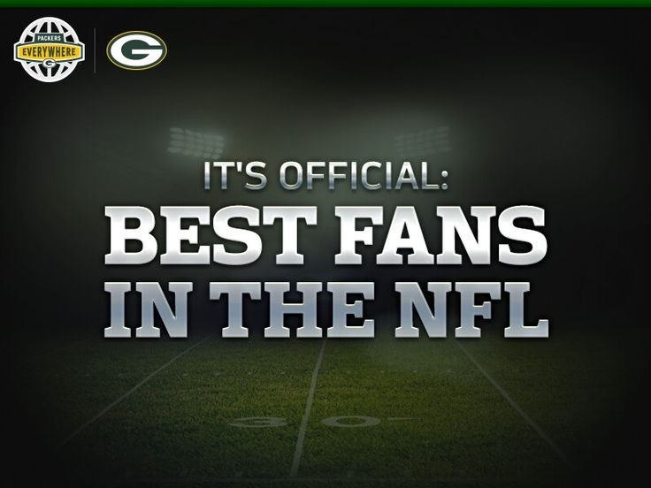 It's official: Packer fans are the best fans in the NFL. // Forbes.