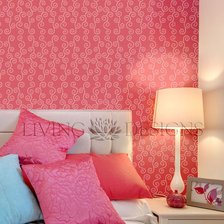 plantilla decorativa para el diseo de interiores pinta y decora paredes creando efectos como el pintura