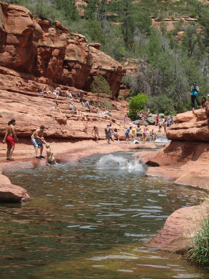 Slide rock state park t in sedona awesome arizona for Cabine vicino a slide rock sedona
