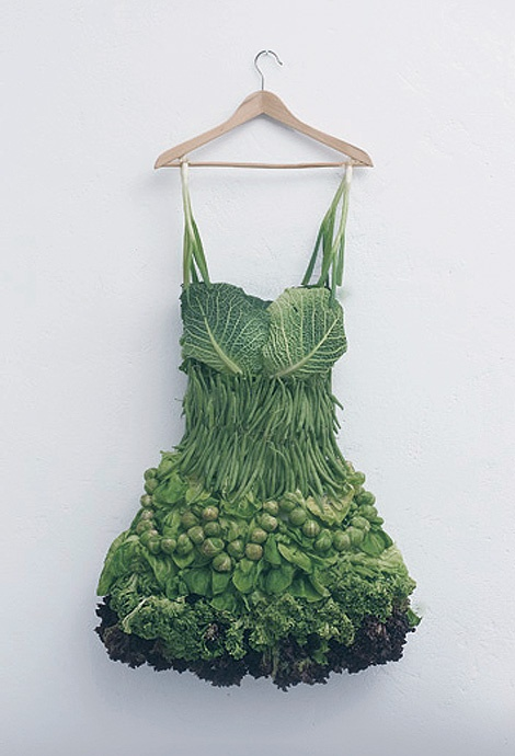You look like a cabbage! No really! beautiful and inspiring!