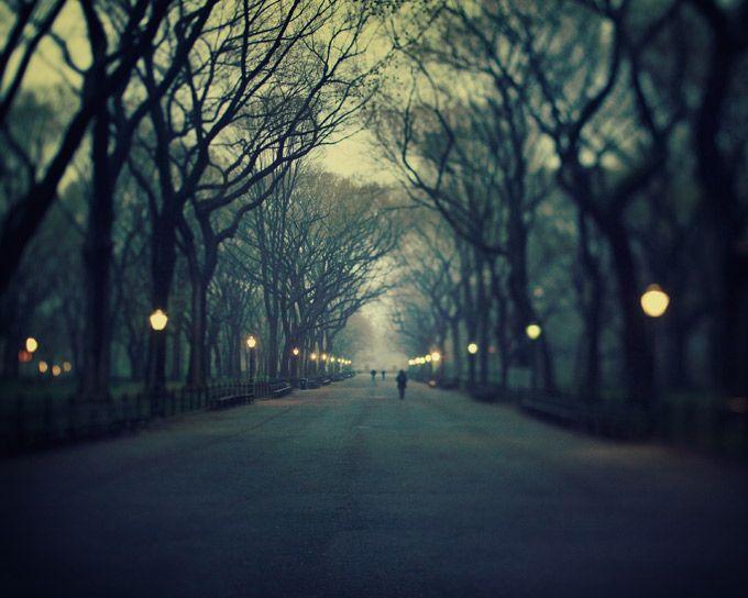 New York #street #city #night