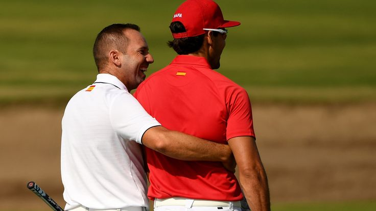 Garcia wishes Olympic format included team aspect  RIO DE JANEIRO - Sergio Garcia wore the colors of Spain and he spent Tuesday morning playing the Olympic Golf Course with his countryman Rafa Cabrera Bello looking every bit the team, but don't confuse the men's competition for a team event. #olympicgolf http://www.golfchannel.com/news/golf-central-blog/garcia-wishes-olympic-format-involved-team-aspect/