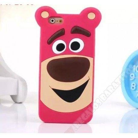 Divertida Carcasa silicona 3D diseño oso para iPhone 5/5S