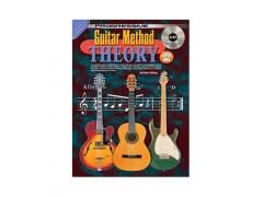 Guitar Method Book 1 Theory - CD CP69075. A comprehensive introduction to music theory as it applies to the guitar. Covers reading traditional music. rhythm notation and tablature, along with learning all the notes, hot to construct chords and scales, expressive techniques, musical terms and playing in all keys.