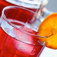 This spiced rum punch is perfect for a bridal shower or a girls night in!