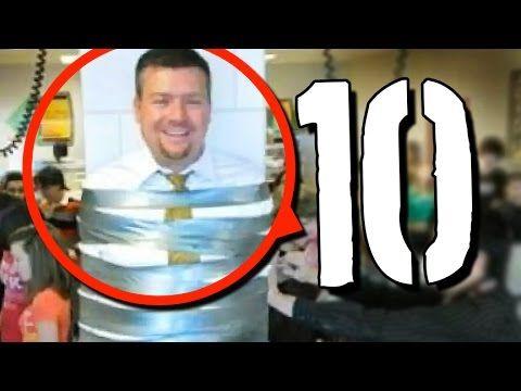 10 przegiętych SZKOLNYCH PRANKÓW [TOPOWA DYCHA]