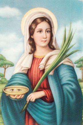 Oração de Santa Luzia protetora dos olhos e da visão - https://oracaoja.com.br/oracao-de-santa-luzia/