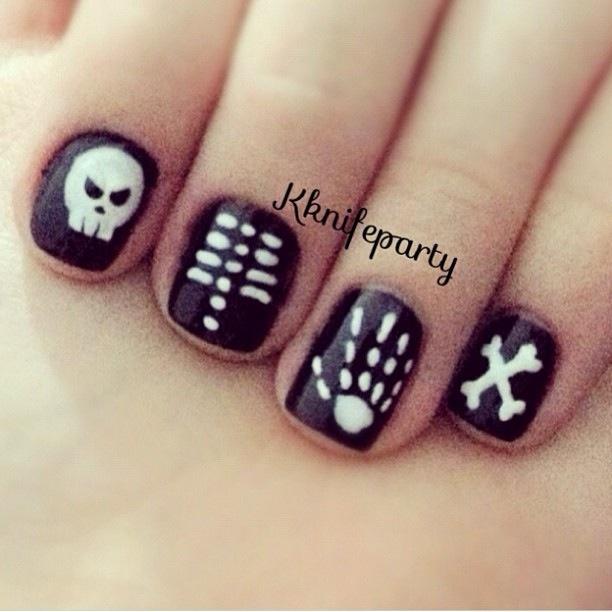 X-ray nails!!!