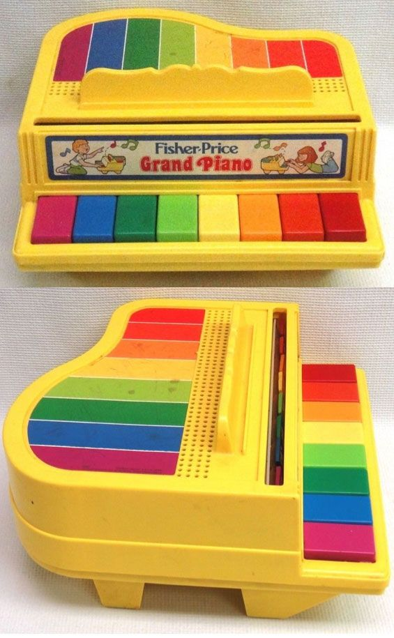 #2201 Fisher-Price Grand Piano